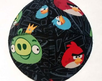 Angry Birds Saucer Kippah Yarmulke with Pigs