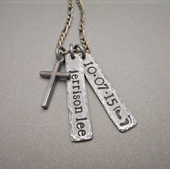 personalized mens necklace mens jewelry necklace