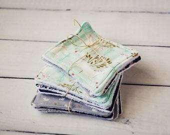 Custom Registry Wash Cloth Set For Mackenzie Peake-Pohja, Michael Miller Magic Collection