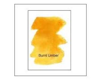 Peerless Transparent Watercolor Sheet - Burnt Umber