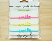 Rubber Band Message, Smile