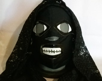 La Llorona Wrestling Mask Mardi Gras day of the dead halloween party masks Horror movie masquerade The lord of the rings ghost mask