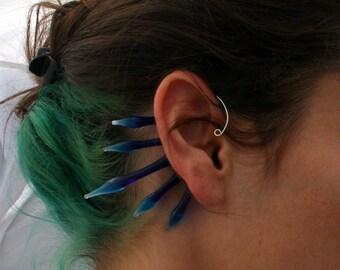 Glass Bead Ear Wrap