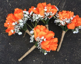 Orange Green Camo Hunting Bouquet