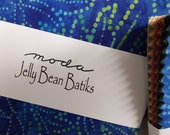 Jelly Bean Batiks Charm Pack of 42 squares
