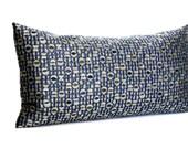 Lumbar Pillow Cover Blue Pillow Decorative Accent Stripe Throw Pillow Floor Cushion Cover 12x24 12x21 12x18 12x16 10x20