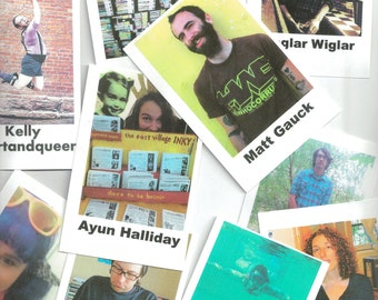 Zinester Trading Cards