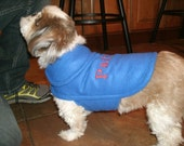 New England Patriots Fleece Dog Coat