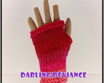 Fingerless Gloves - Bright Pop