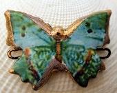 Large Butterfly Bracelet Connector #24