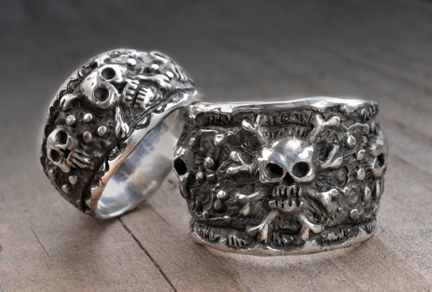 skull wedding ring setpirate wedding skull wedding ring ring Silver Skull Wedding zoom