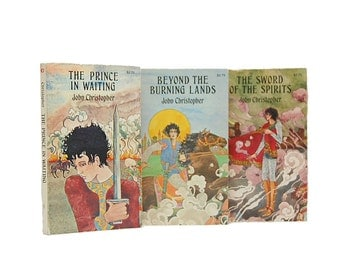 1970s Prince In Waiting Beyond Burning Lands Sword Of The Spirits Sam Youd Trilogy John Cristopher Teen Fantasy Books