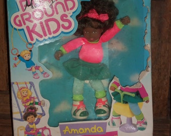 Playground Kids Amanda Doll with Silly Spring Thing , missing parts