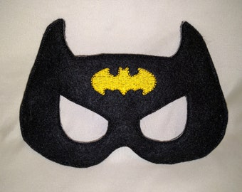 Batman Superhero Felt Mask