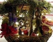 Fairy Basket Cottage ~ Fairy Grandmother Cottage