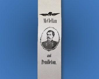 1864 George McClellan Campaign Ribbon