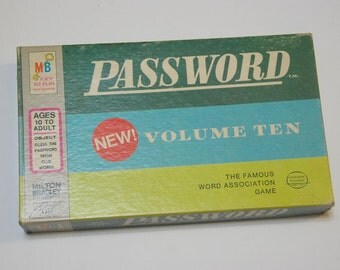 Game0126 Password Volume 10 from 1970