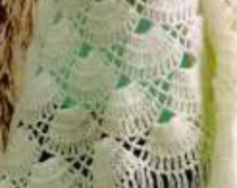 Crochet Shawl PDF Pattern Instant Download Light  Versatile and Feminine Crochet Lace Shawl Triangle Crochet Shawl Not a finished product
