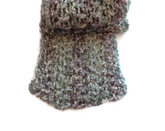 Long Scarf Hand Crocheted Soft Scarf Handmade  Ready To Ship