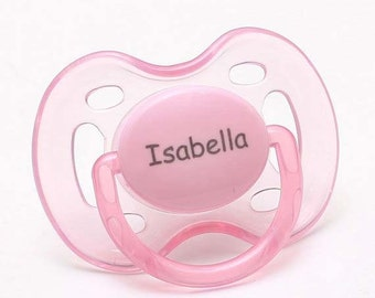 Baby Girl- Pacifiers - Personalized Pacifier - Monogram Pacifier - Baby Girl Gift - Baby Gift - Personalized Baby Girl - Pacifier - 0-6