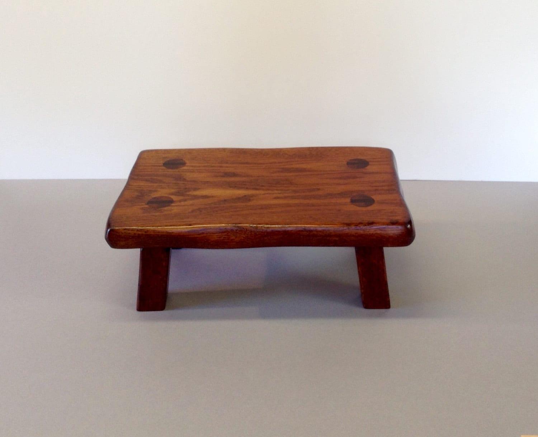 Step Stool For Bedroom Oak Footstool Etsy