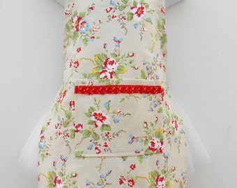 Toddler Girl Cath Kidston Fabric Apron......Handmade in Ireland