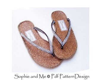 HOW to make SANDALS- Crochet Patterns - Istant Download