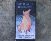 Paper Wolf Essential Oil Cologne for Men