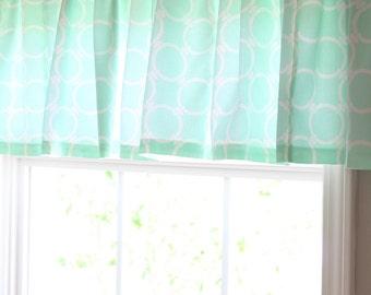 Custom Baby Crib Bedding- Design Your Own- Window Valance