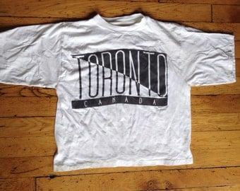1980's Toronto Canada t shirt