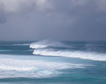 Maui Winter Waves Hookipa beach GICLEE on canvas, Windsurf Kitesurf