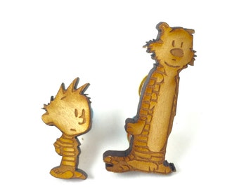 Calvin and Hobbes Pin set