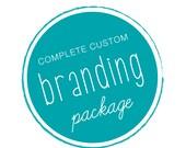 CUSTOM LOGO . Branding Package . OOAK Custom Logo Design
