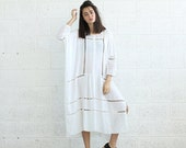 Summer SALE SALE!Breeze Kaftan Dress, White