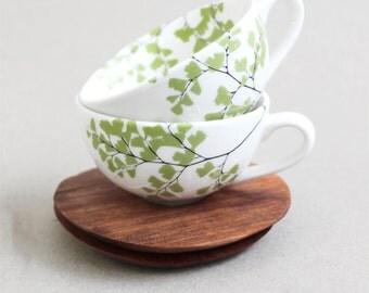 Fern Espresso Cup Set