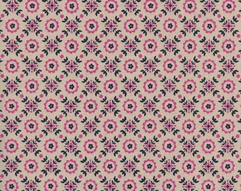 Lucky Strikes Coffee Shop in Orchid, Kim Kight, Cotton+Steel, RJR Fabrics, 100% Cotton Fabric, 3021-2