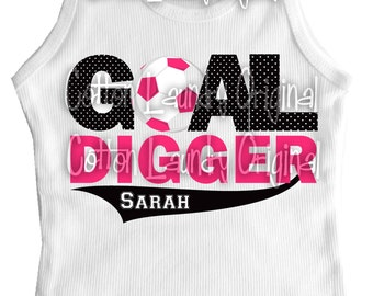 Soccer shirt girl - personalized and for the soccer girl your the family-tank tee infant one piece short sleeve