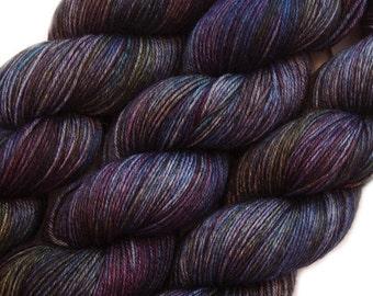 hand dyed yarn DESTINATIONS TRANSILVANIA pick your base - sw merino bfl silk nylon stellina fingering dk