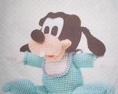 AD08- Crochet Baby Goofy, Disney Amigurumi, Japanese pattern diagram, PDF