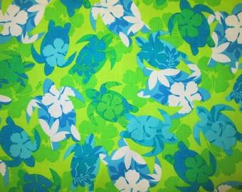 Sea Turtle Tropical Blue Green Custom Listing