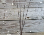 Unique Vintage Rug Beater, Wrought Iron, Wood, Free Shipping