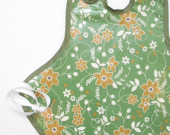 SPRING CLEANING SALE!--Art Smock in Sage Florals--Size 2T-5T--Ready to Ship