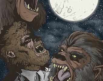 Three Wolfman Moon