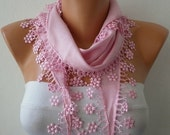 Pink Pashmina Scarf Summer Winter Accessories Cowl Bridesmaid Gift Gift Ideas For Her Women's Fashion Accessories best selling item