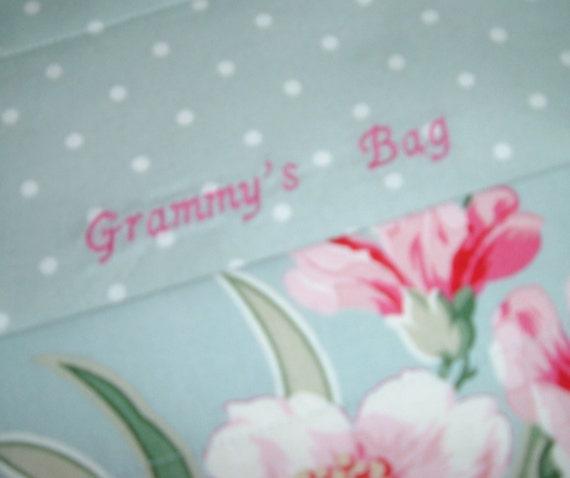 Walker Bag -Custom Walker Bag- Gift for Grandma - Gift for Elderly