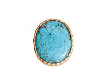 Statement Ring- Turquoise