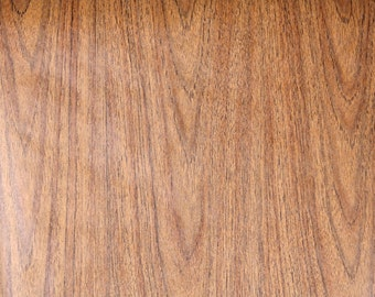 Retro Wallpaper by the Yard 70s Vintage Wallpaper - 1970s Brown Wood Grain Faux Finish