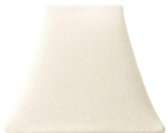 Cream Velvet - SLIP COVERS for lampshades