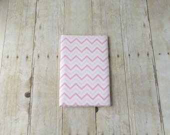 Pink Chevron Flannel Receiving Blanket - Flannel Swaddle Blanket - Baby Girl Gift - Newborn Baby Girl Gift - Pink Chevron Blanket