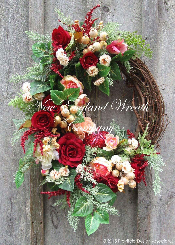 Valentine Wreath Heart Wreath Victorian Wreath Spring